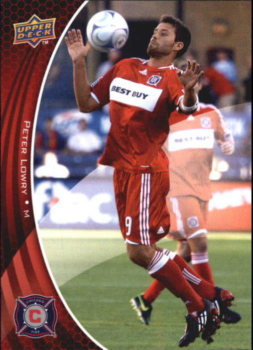 2010 Upper Deck MLS #6 Peter Lowry