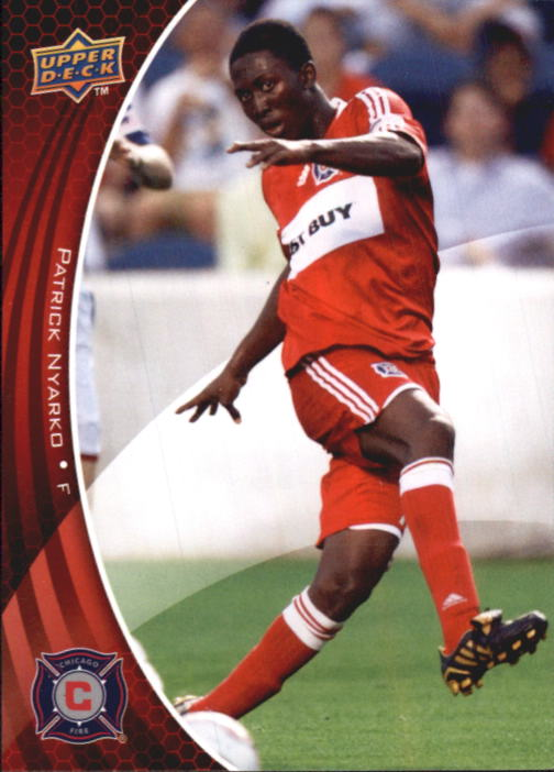 2010 Upper Deck MLS #9 Patrick Nyarko