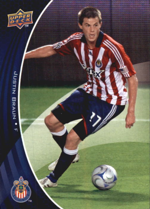 2010 Upper Deck MLS #14 Justin Braun