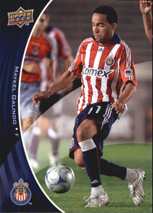 2010 Upper Deck MLS #17 Maykel Galindo