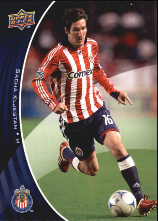 2010 Upper Deck MLS #19 Sacha Kljestan