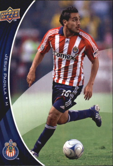 2010 Upper Deck MLS #21 Jesus Padilla