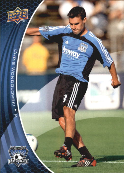 2010 Upper Deck MLS #151 Chris Wondolowski