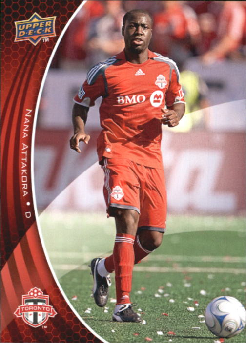 2010 Upper Deck MLS #164 Nana Attakora RC