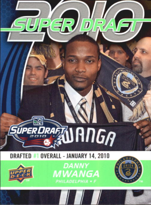 2010 Upper Deck MLS #176 Danny Mwanga