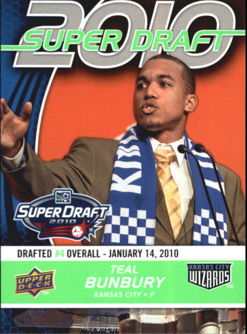 2010 Upper Deck MLS #179 Teal Bunbury RC