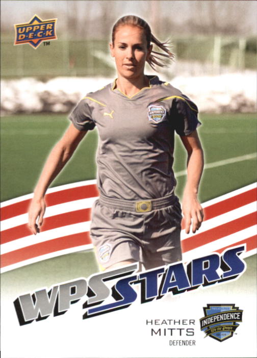2010 Upper Deck MLS #196 Heather Mitts