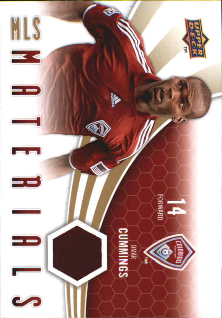 2010 Upper Deck MLS Materials #OC Omar Cummings
