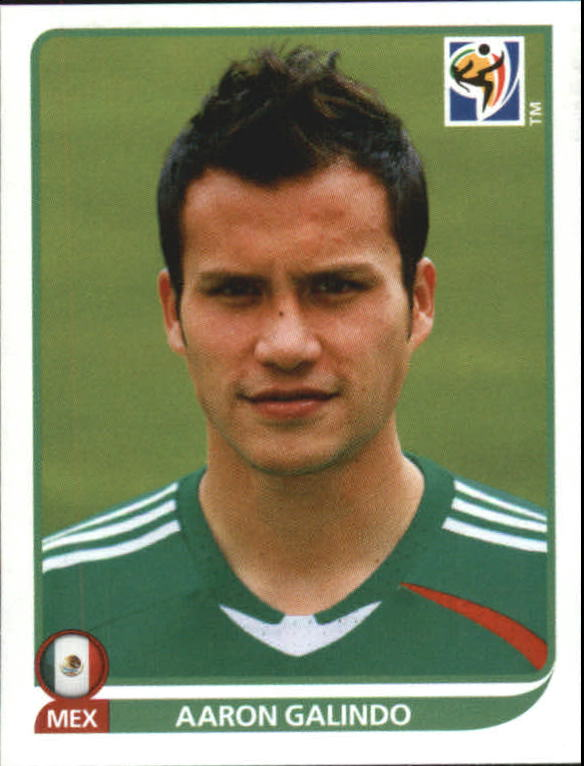 2010 Panini World Cup Stickers #55 Aaron Galindo