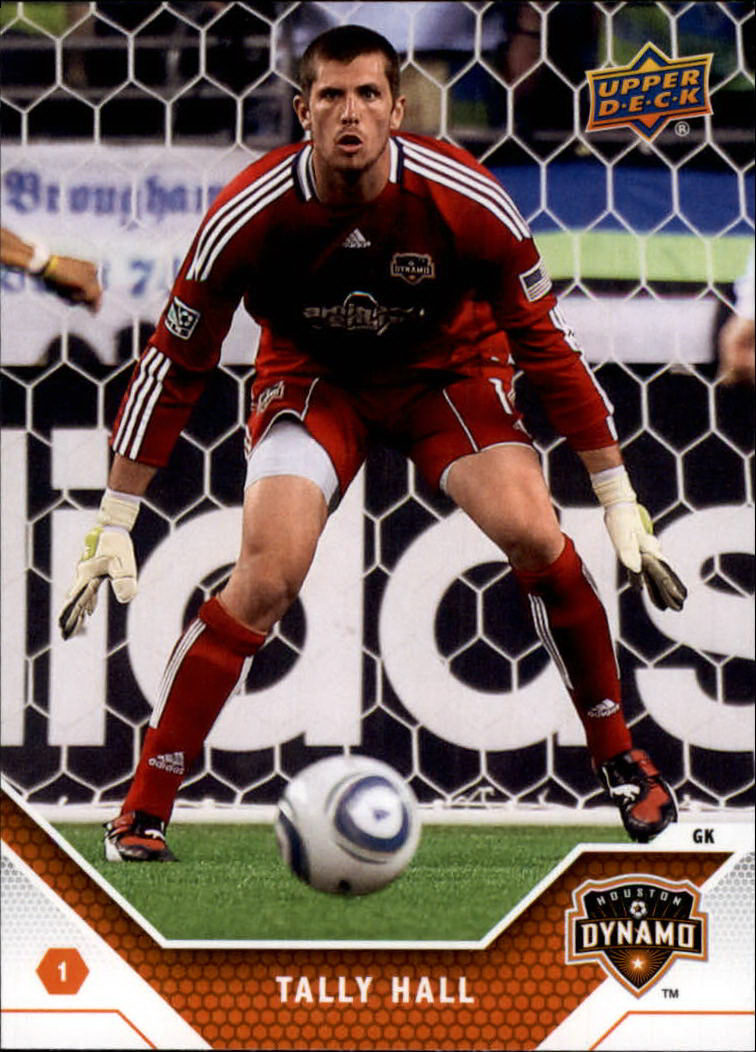 2011 Upper Deck MLS #63 Tally Hall