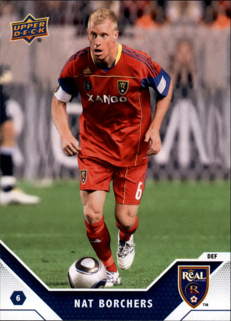 2011 Upper Deck MLS #134 Nat Borchers