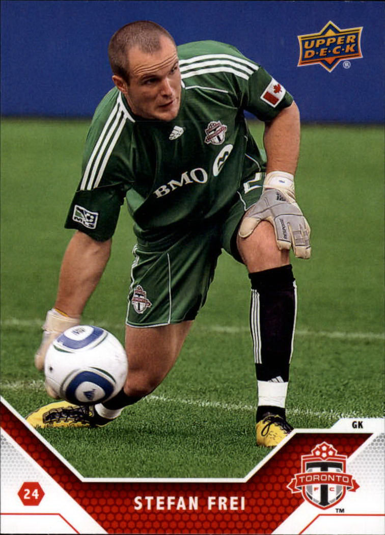 2011 Upper Deck MLS #165 Stefan Frei