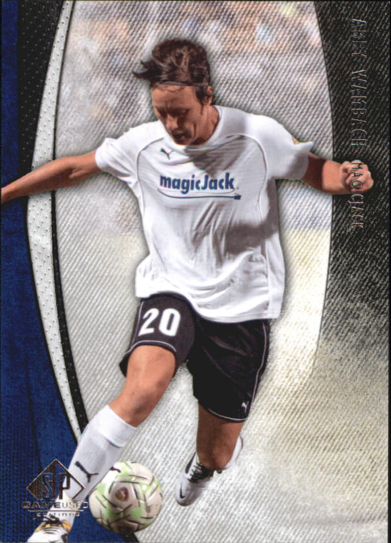 2011 SP Game Used #59 Abby Wambach
