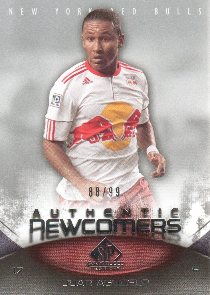 2011 SP Game Used #80 Juan Agudelo/99