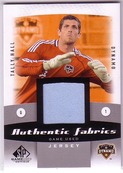 2011 SP Game Used Authentic Fabrics #TH Tally Hall E