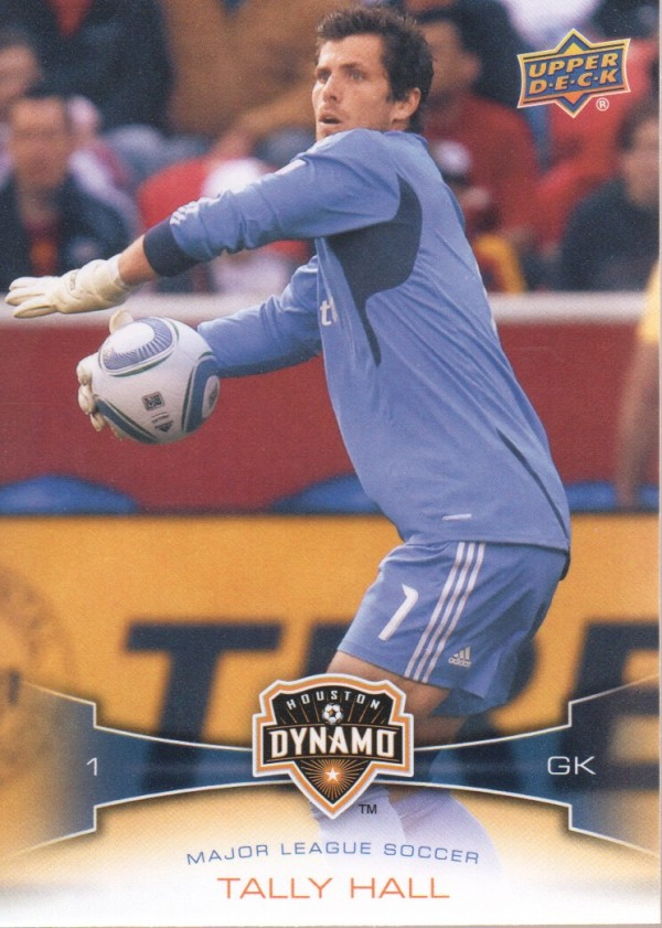 2012 Upper Deck MLS #38 Tally Hall
