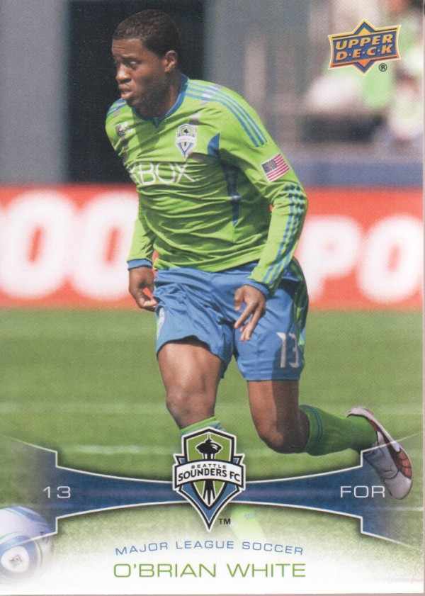 2012 Upper Deck MLS #123 O'Brian White