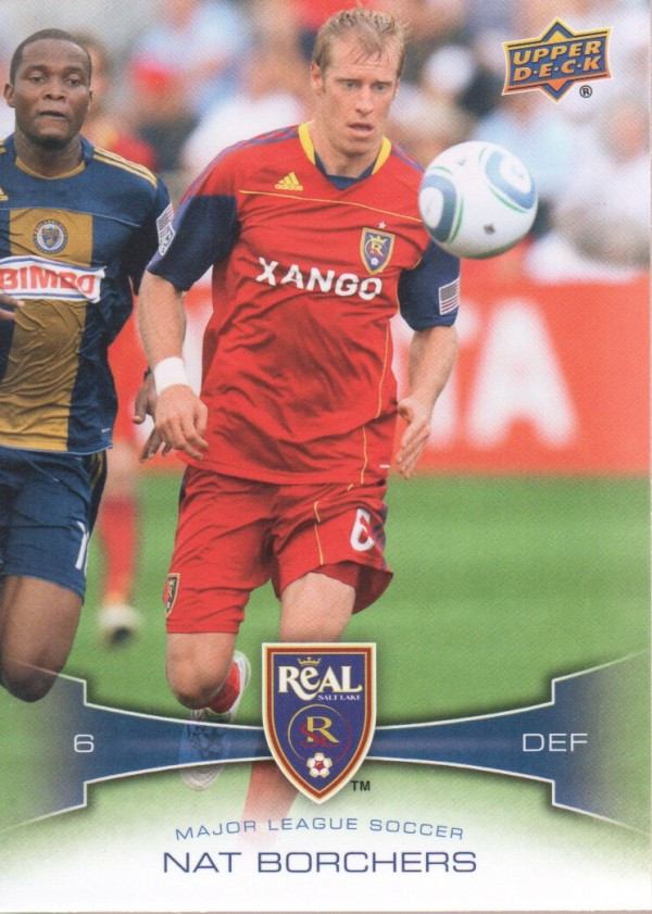 2012 Upper Deck MLS #89 Nat Borchers