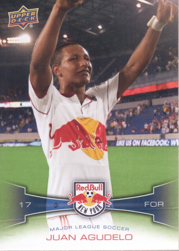 2012 Upper Deck MLS #104 Juan Agudelo
