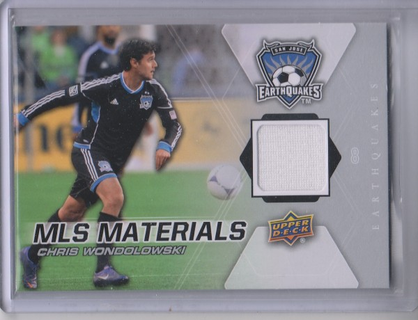 2012 Upper Deck MLS Materials #CW Chris Wondolowski C