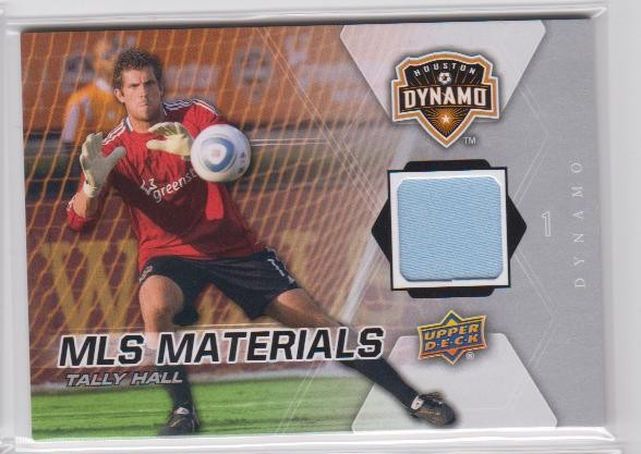 2012 Upper Deck MLS Materials #HA Tally Hall D