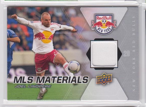 2012 Upper Deck MLS Materials #JL Joel Lindpere D