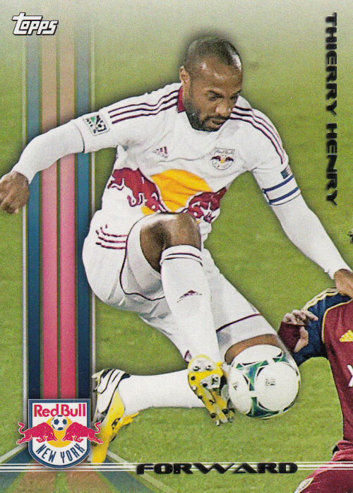 2013 Topps MLS #1A Thierry Henry SP