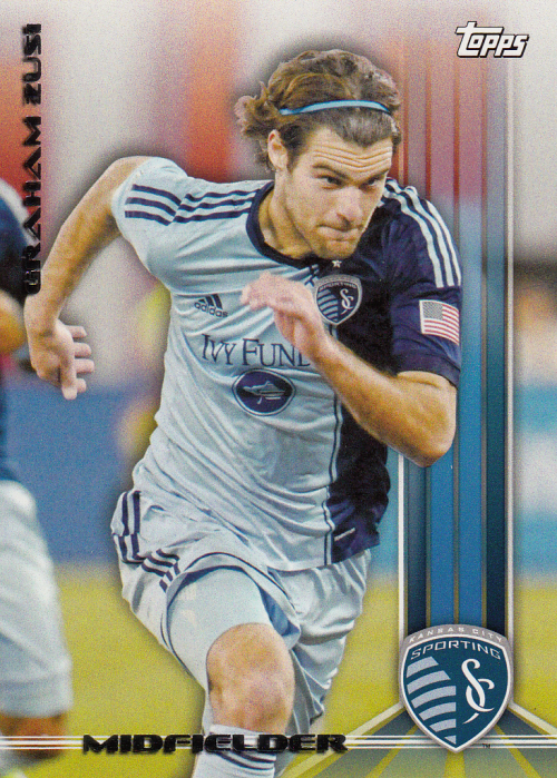 2013 Topps MLS #2A Graham Zusi SP