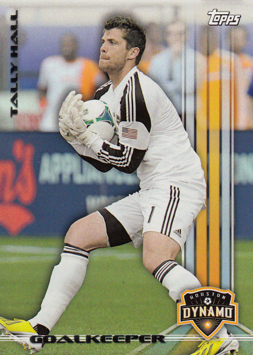 2013 Topps MLS #7 Tally Hall