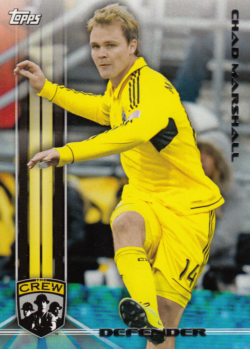 2013 Topps MLS #11 Chad Marshall