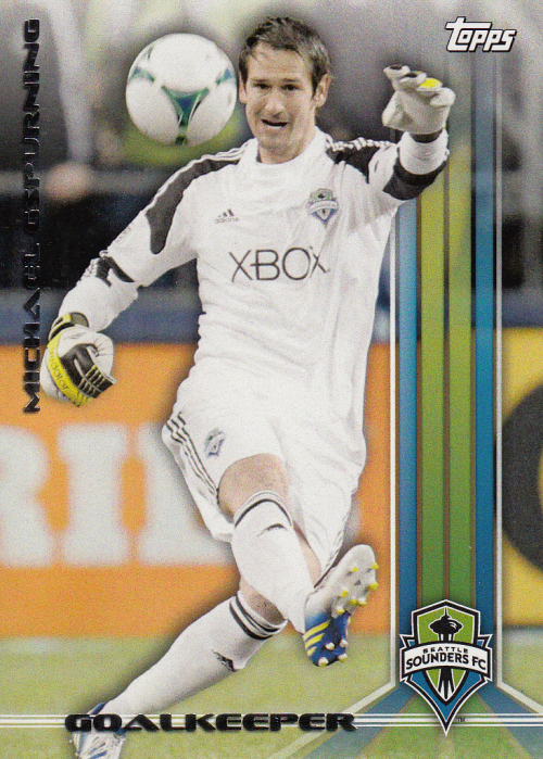 2013 Topps MLS #13 Michael Gspurning