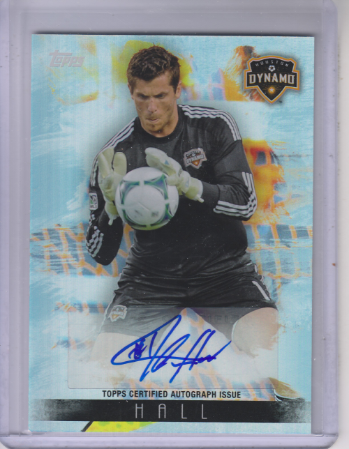 2013 Topps MLS Maestros Autographs #THA Tally Hall
