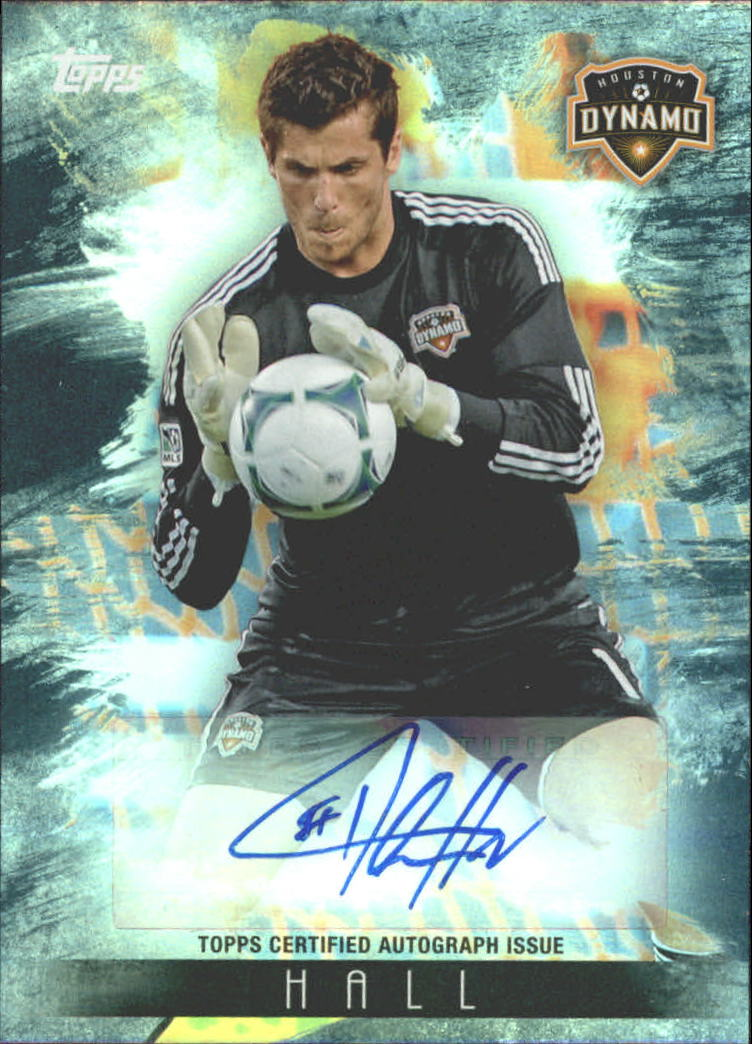 2013 Topps MLS Maestros Autographs Black #THA Tally Hall