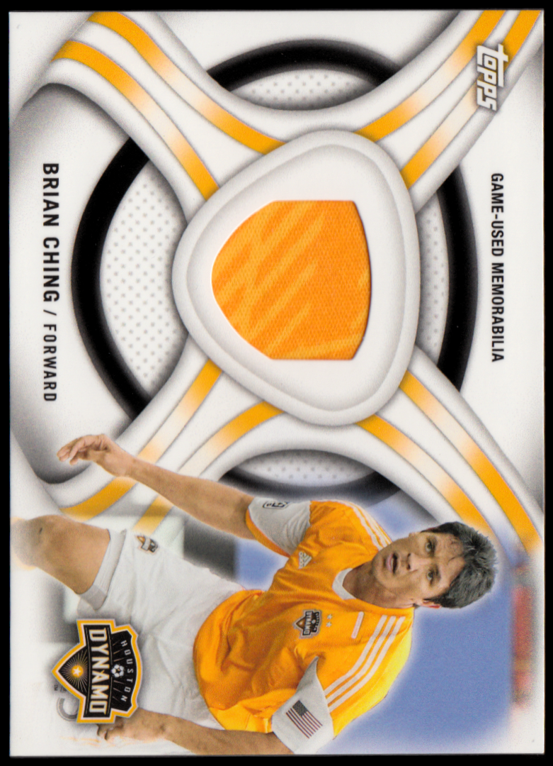 2013 Topps MLS Relics #BC Brian Ching