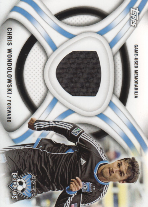 2013 Topps MLS Relics #CW Chris Wondolowski
