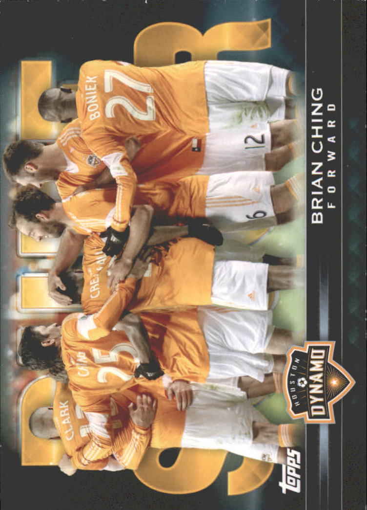 2013 Topps MLS Pure Soccer #BC Brian Ching