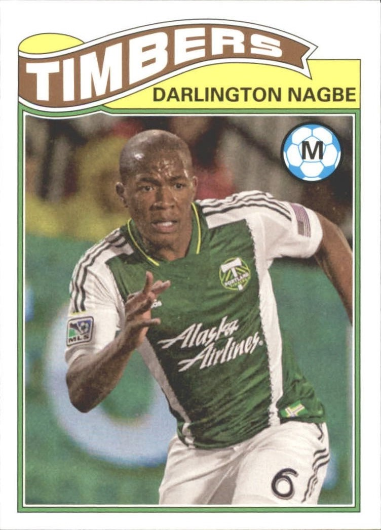 2013 Topps MLS 1978 English Footballer #DN Darlington Nagbe