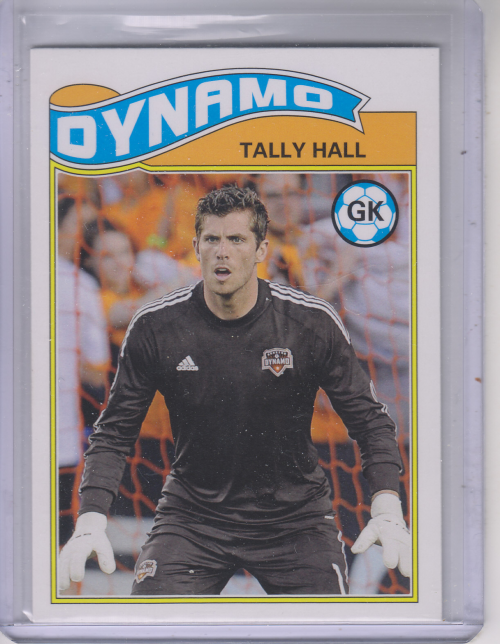 2013 Topps MLS 1978 English Footballer #THA Tally Hall