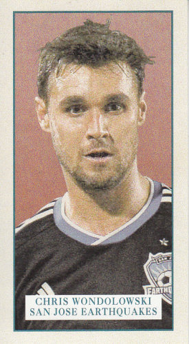 2013 Topps MLS Minis #CW Chris Wondolowski