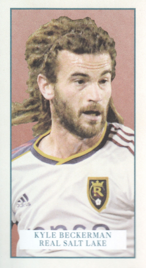 2013 Topps MLS Minis #KB Kyle Beckerman