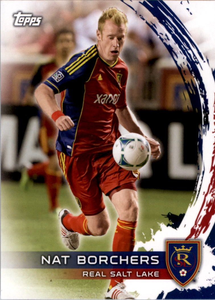 2014 Topps MLS #148 Nat Borchers