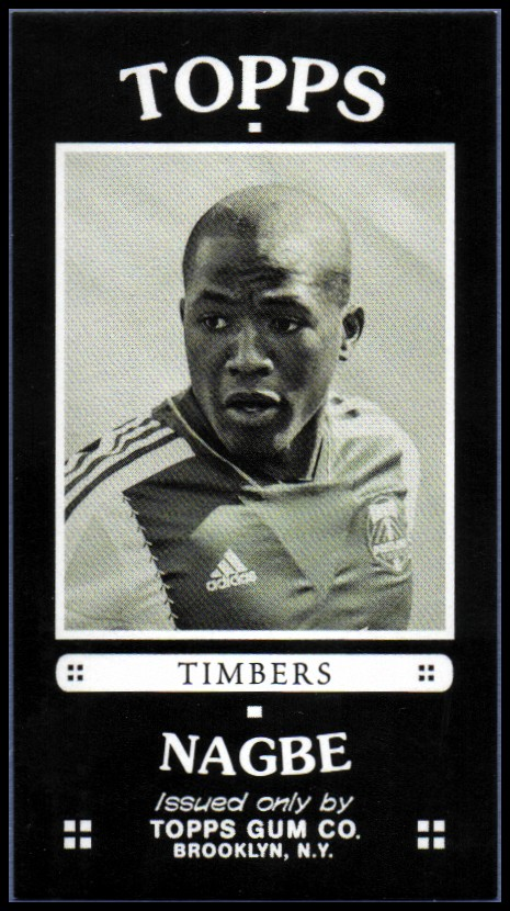 2014 Topps MLS Minis #TMDN Darlington Nagbe