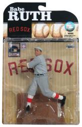 2009 McFarlane Baseball Cooperstown Collection Series 6 #50 Babe Ruth Red Sox