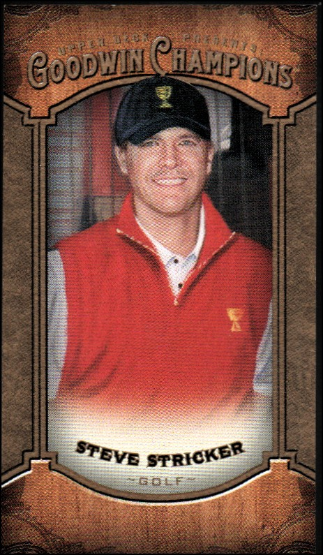 2014 Upper Deck Goodwin Champions Mini #109 Steve Stricker