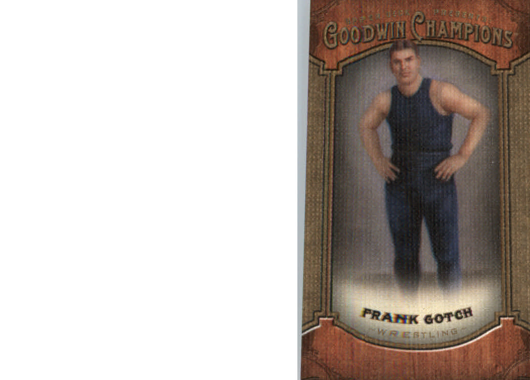 2014 Upper Deck Goodwin Champions Mini Canvas #135 Frank Gotch