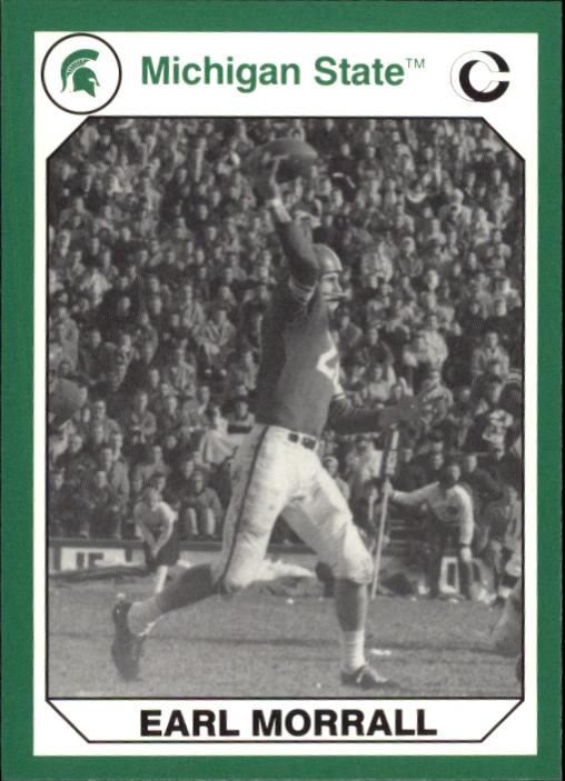 1990-91 Michigan State Collegiate Collection 200 #16 Earl Morrall FB