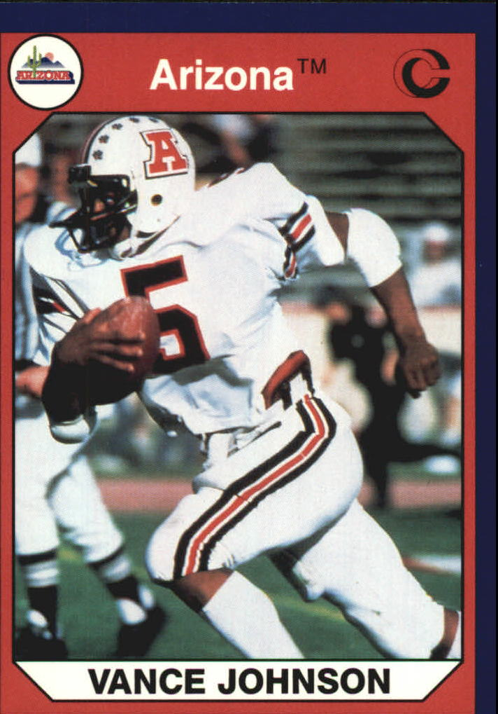 1990-91 Arizona Collegiate Collection #3 Vance Johnson F