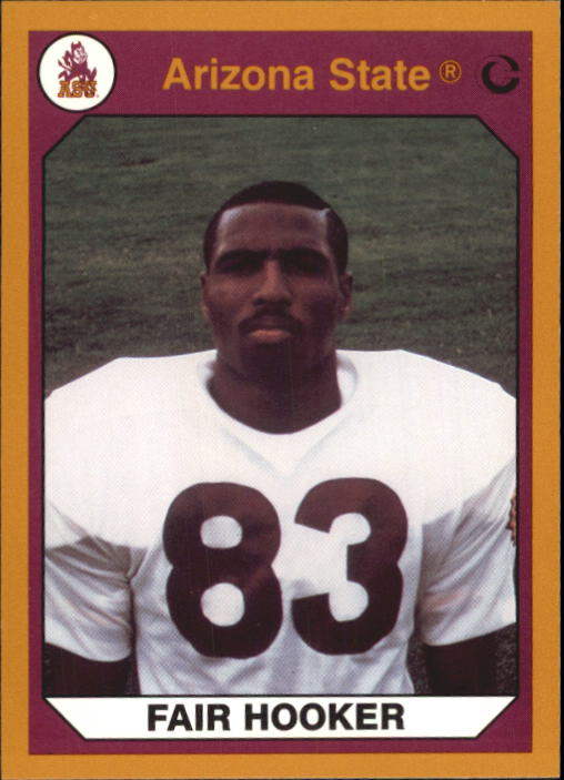 1990-91 Arizona State Collegiate Collection #19 Fair Hooker F