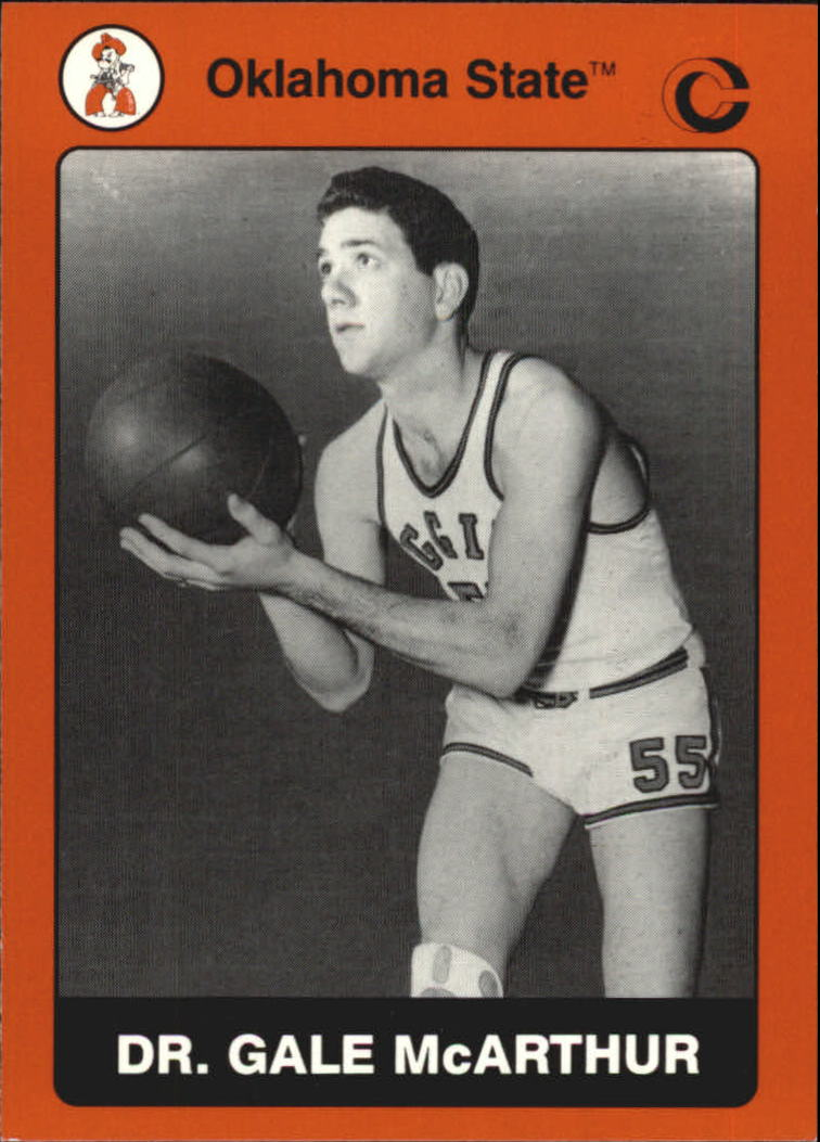 1991 Oklahoma State Collegiate Collection #80 Gale McArthur K