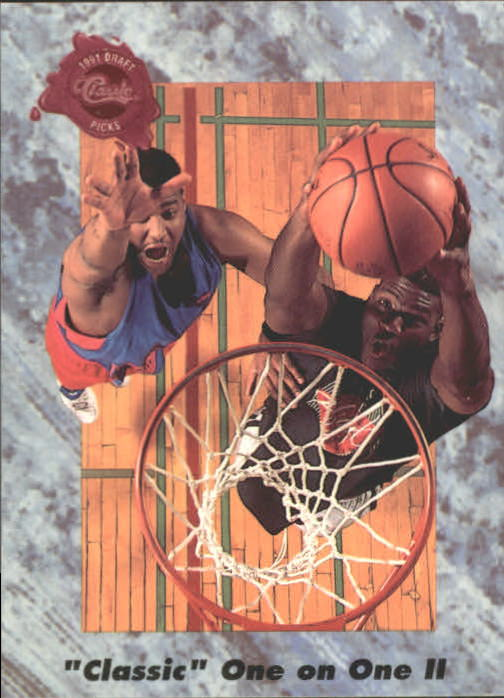 1991 Classic Four Sport #193 Classic One on One II